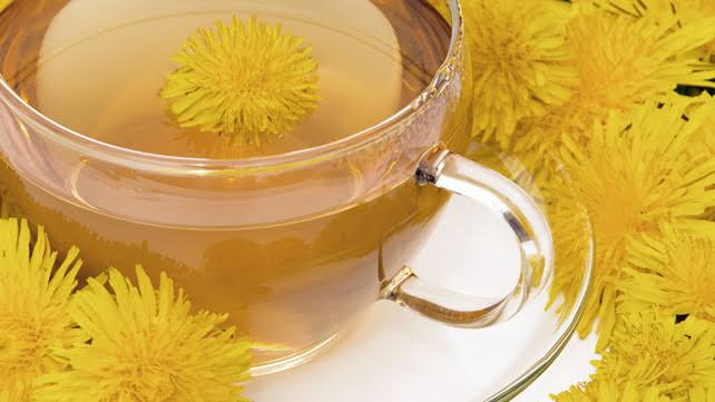 सिंहपर्णी चाय