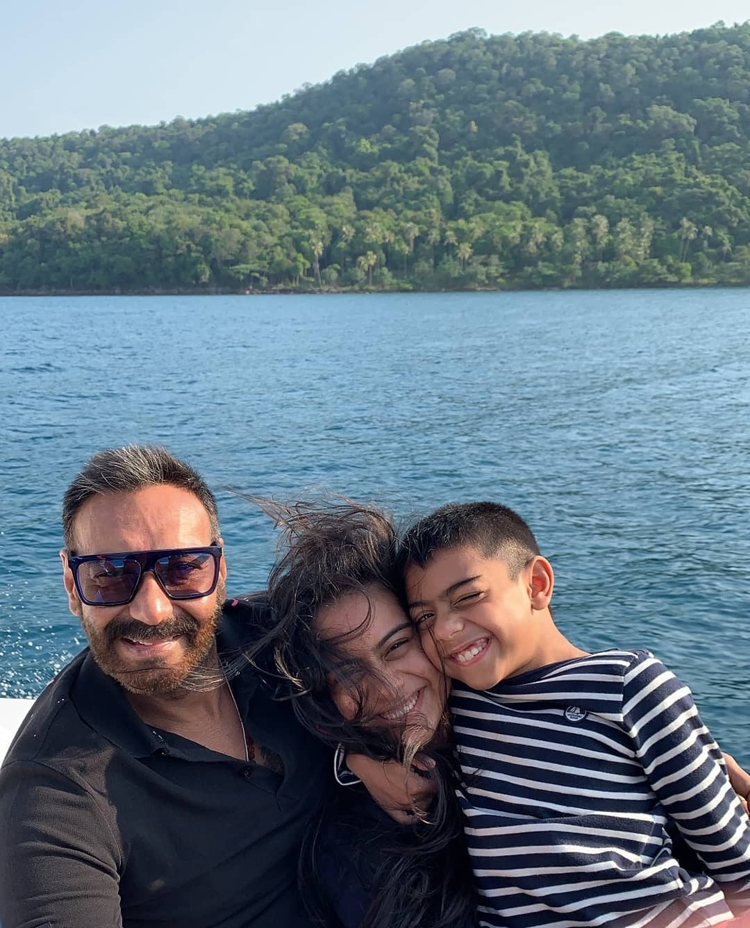 Ajay and Kajol 21st wedding anniversary