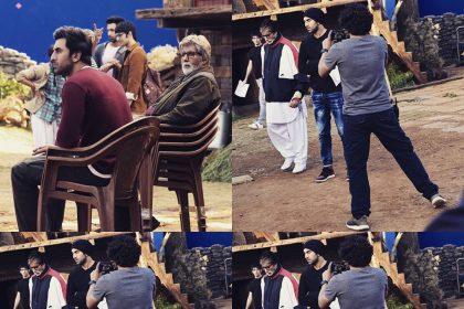 Brahmastra: अमिताभ बच्चन ने ब्रह्मास्त्र के सेट से शेयर की तस्वीरें, कैप्शन में की रणबीर कपूर की तारीफ