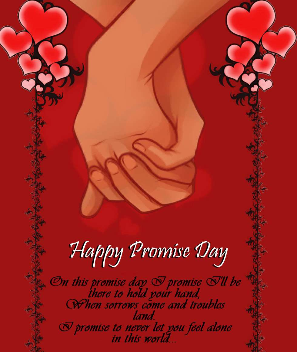Happy Promise Day 2020 Wishes Images, Cards, Pictures