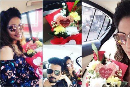 Rose Day 2020 Special: हिना खान के बॉयफ्रेंड रॉकी जायसवाल इस तरह से अक्सर करते है अपने प्यार का इजहार
