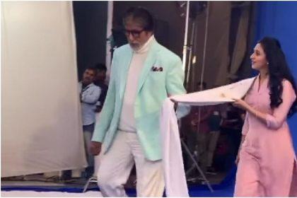 Amitabh Bacchan:अमिताभ बच्चन ने दिव्यांका त्रिपाठी को कहा जो भरोसा करता है उस पर भरोसा करना, Video हुआ वायरल