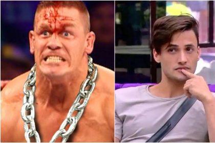 """Bigg Boss 13: आसिम रियाज को सपोर्ट कर रहे है """"WWE स्टार जॉन सीना"""" सोशल मीडिया पर शेयर की कंटेस्टेंट की तस्वीर"""