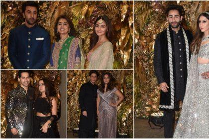 Armaan Jain Wedding Reception: अरमान जैन की रिसेप्शन बॉलीवुड सितारों की लगी महफ़िल, देखें तस्वीरें