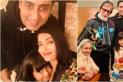अमिताभ बच्चन, जाया बच्चन, अभिषेक बच्चन और ऐश्वर्या राय की तस्वीर (फोटो: इंस्टाग्राम)