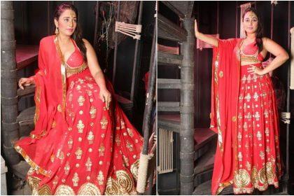 Rani Chatterjee Photos: रानी चटर्जी ने लाल लहंगा चुनरी में शेयर की फोटो, देखें तस्वीरें