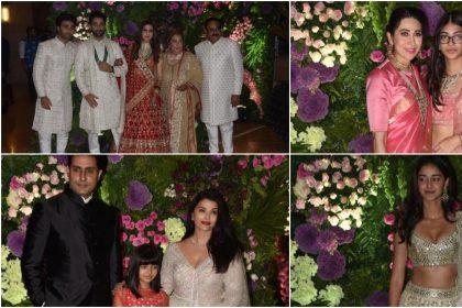 Armaan Jain and Anissa Malhotra tie knot in Mumbai, Anil kapoor, Amitabh Bachchan, Aishwarya, Ananya panday
