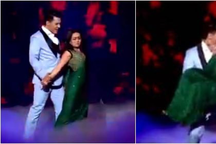 Indian Idol 11: Aditya Narayan and Neha Kakkar romantic dance