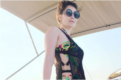 Sanjay Dutt's wife Manyata Dutt bikini photos went viral on social media
