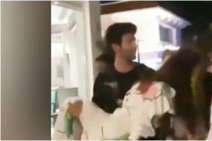 सारा अली खान की तबियत बिगड़ी, तो कार्तिक आर्यन ने सबके सामने उठा लिया गोद में, वीडियो हुआ वायरल