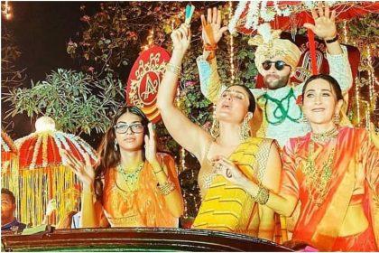 Armaan Jain-Anissa Malhotra wedding: Kareena Kapoor and Karishma Kapoor dance at Armaan wedding