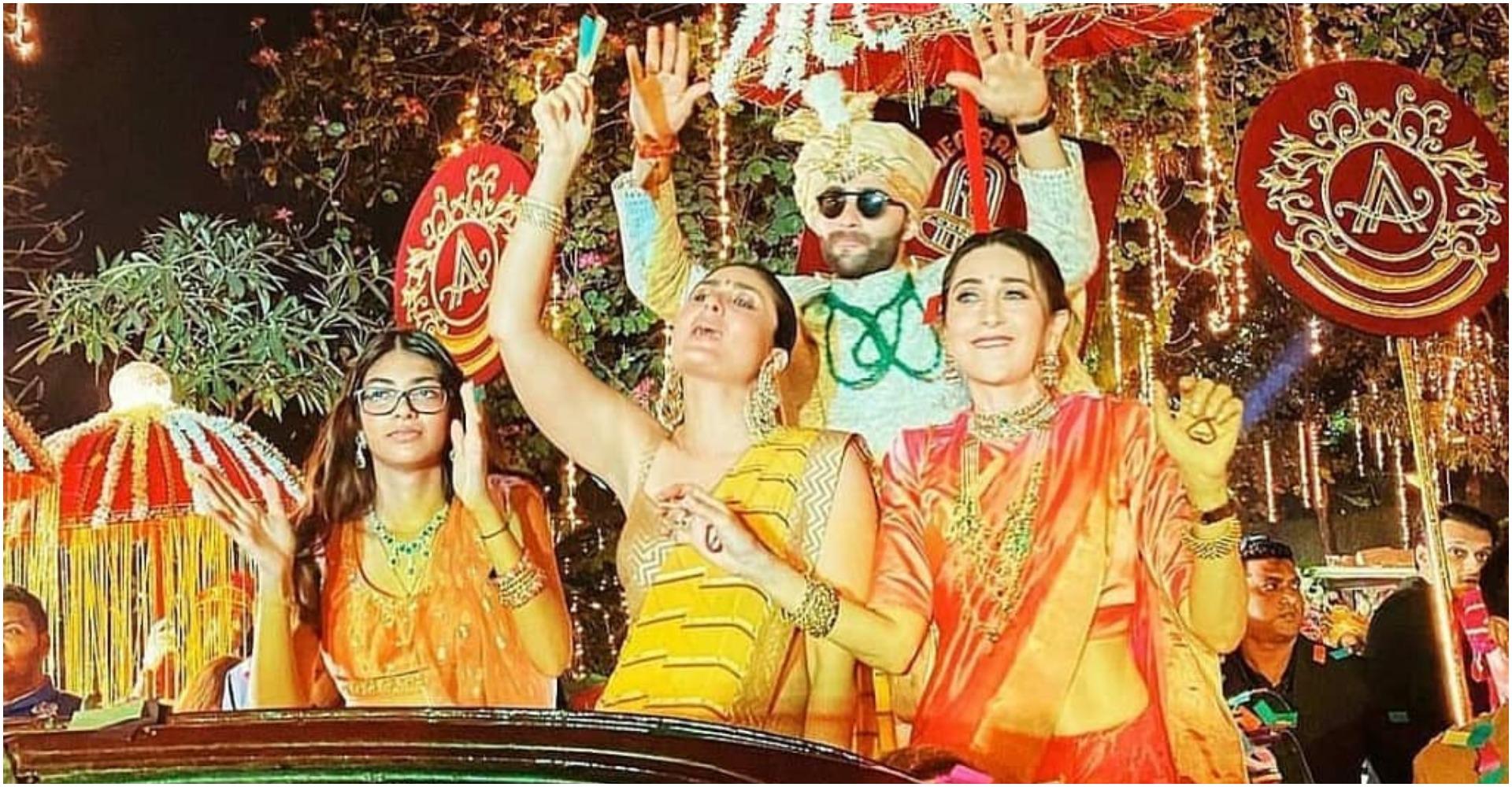 Armaan Jain Wedding Photos: भाई अरमान जैन की शादी में करीना और करिश्मा ने मचाया धूम, देखें बारात का वीडियो