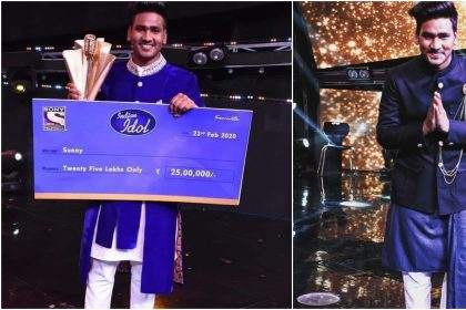 Indian Idol 11 winner Sunny Hindustani