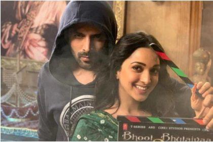Bhool Bhulaiyaa 2: Kartik Aaryan and Kiara Advani romantic scene leak on internet
