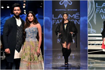 Lakme Fashion Week Day 1: janhvi kapoor, vicky kaushal, sunny leone, neha dhupia and Rakul Preet singh at Lakme Fashion Week