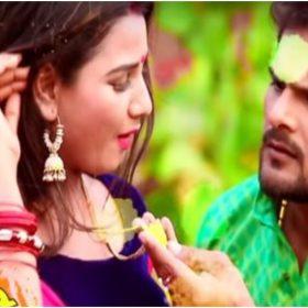 Bhojpuri Holi Song: जब खेसारी लाल यादव ने प्रियंका सिंह को लगाया गुलाल, तो उसने कहा- 'बानी हम शादी शुदा हो'