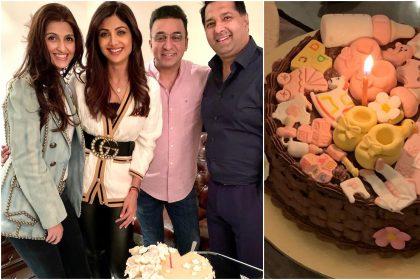 Shilpa Shetty Kundra throw lavish party for Shamisha Kundra birth
