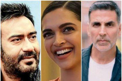 अजय देवगन, अक्षय कुमार और दीपिका पादुकोण की फिल्में 2021 में बॉक्स ऑफिस पर देगी एक दूसरे को टक्कर