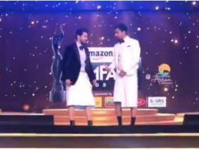 Filmfare Awards 2020: वरुण धवन और विक्की कौशल की पैंट हुई चोरी, इस अभिनेता पर लगा है इल्जाम, देखें वीडियो