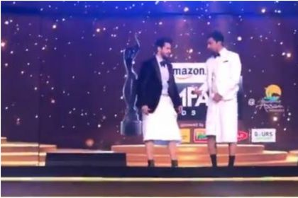 Filmfare Awards 2020: Varun Dhawan and Vicky Kaushal trouser missing at Awards show