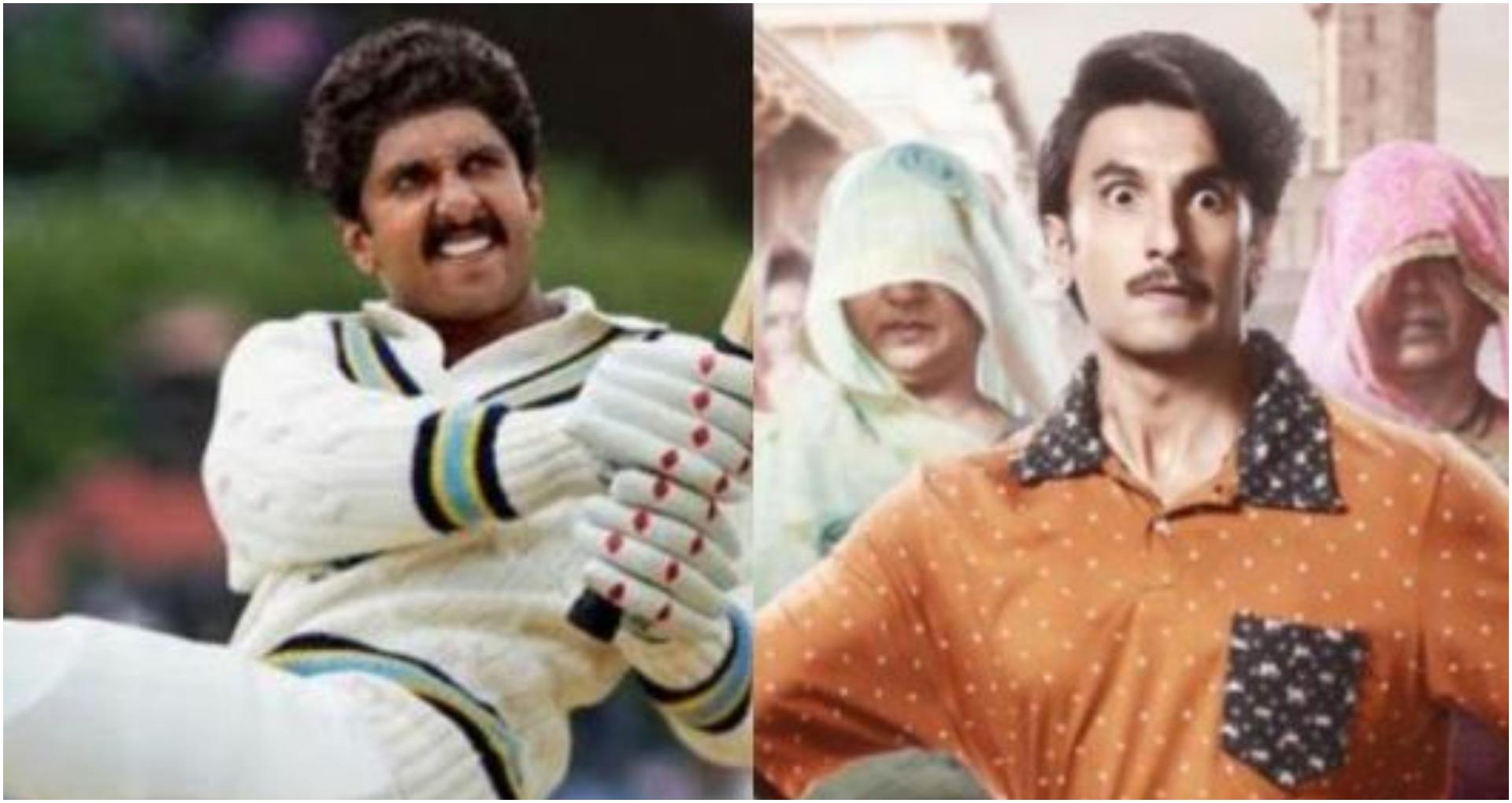 रणवीर सिंह साल 2020 में मचाने वाले हैं धमाल, '83' से लेकर 'जयेशभाई जोरदार' और 'तख़्त' हैं तैयार