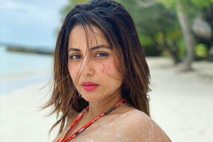Hina Khan photos: हिना खान एक बार फिर समुन्द्र किनारे बोल्ड अंदाज में नजर आयीं, यहाँ देखे तस्वीरें