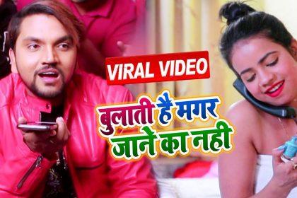 Bhojpuri Video Song: भोजपुरी गाने 'बुलाती है मगर जाने का नहीं' ने सोशल मीडिया पर मचाई धूम