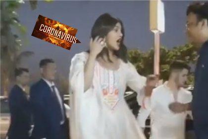 Coronavirus के चलते प्रियंका चोपड़ा ने किया हाथ मिलाने से मना, देखिये वीडियो