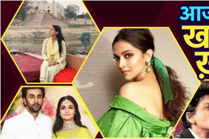 Bollywood Top 5 News: Karan Johar ने शेयर की Shahrukh Khan की थ्रोबैक तस्वीर, Sara Ali Khan ने की गंगा आरती