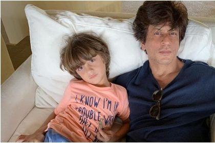 शाहरुख खान ने शेयर की अबराम की पेंटिंग, देखते ही देखते सोशल मीडिया पर हो गई Viral,देखें तस्वीर