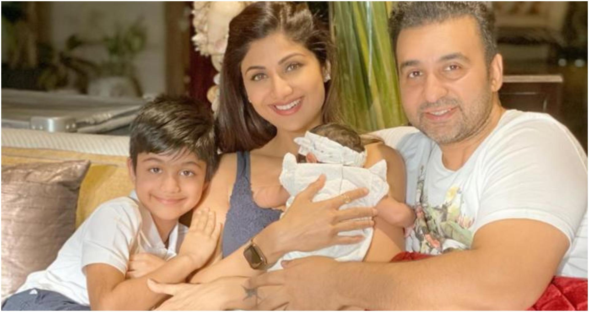 शिल्पा शेट्टी कुंद्रा और राज कुंद्रा की बेटी शमीशा की तस्वीर आई सामने, शिल्पा ने बताया आज का दिन हैं बहुत ख़ास