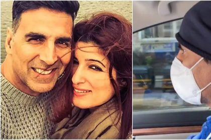 Akshay Kumar takes wife Twinkle Khanna to a hospital, Here is the reason, watch video now