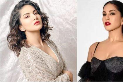 Sunny Leone Hot Photos: सनी लियोन ने ब्लैक ड्रेस पहन किया फैंस को घायल, देखें फोटोज