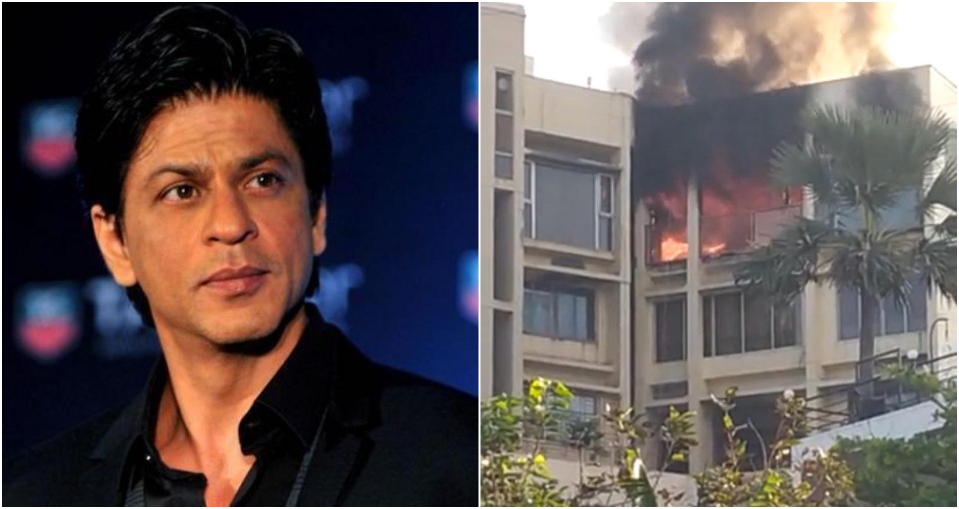 शाहरुख खान के बंगले 'मन्नत' के पास बिल्डिंग में लगी आग, 1 व्यक्ति की मौत और एक घायल