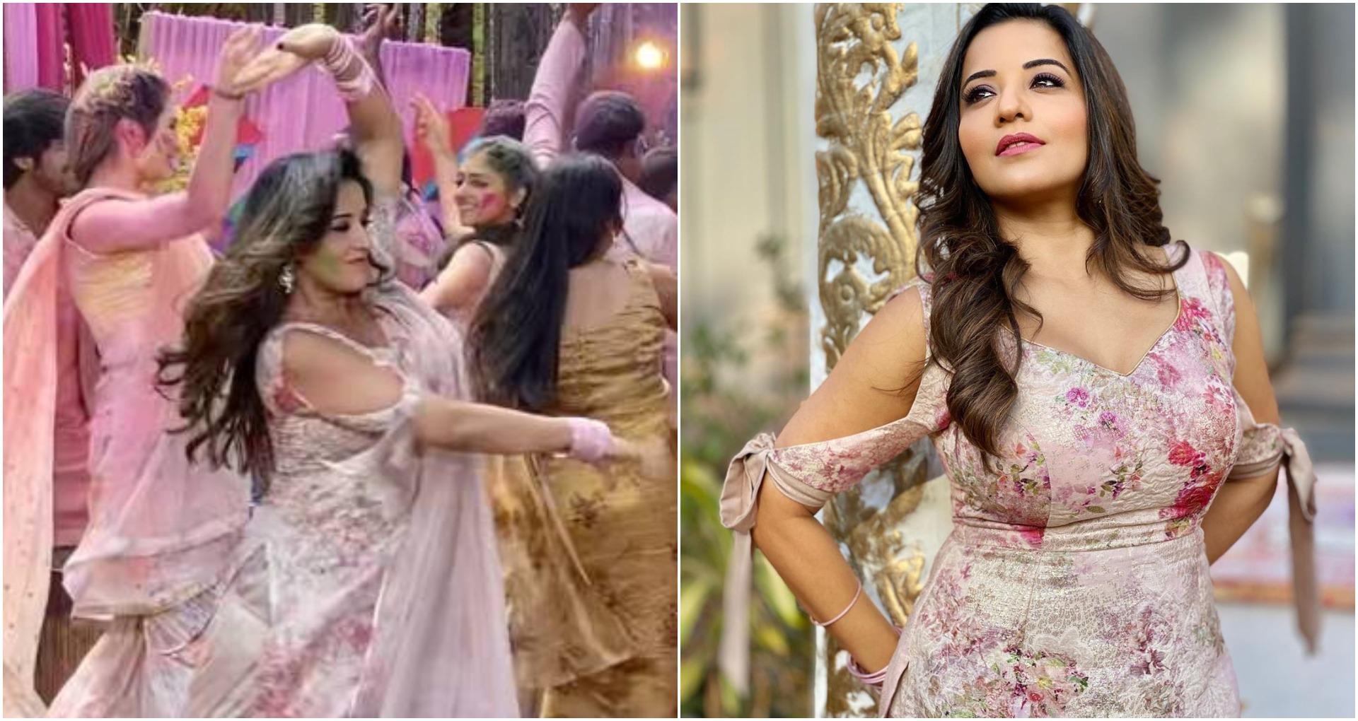 Monalisa Dance Video: दीपिका पादुकोण का गाना 'नगाड़े संग…' पर मोनालिसा ने ऐसे लगाये ठुमके कि लोग देखते रह गए
