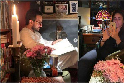 करीना कपूर खान और सैफ अली खान इस तरह बिता रहे हैं अपना क्वालिटी टाइम, देखें तस्वीरें