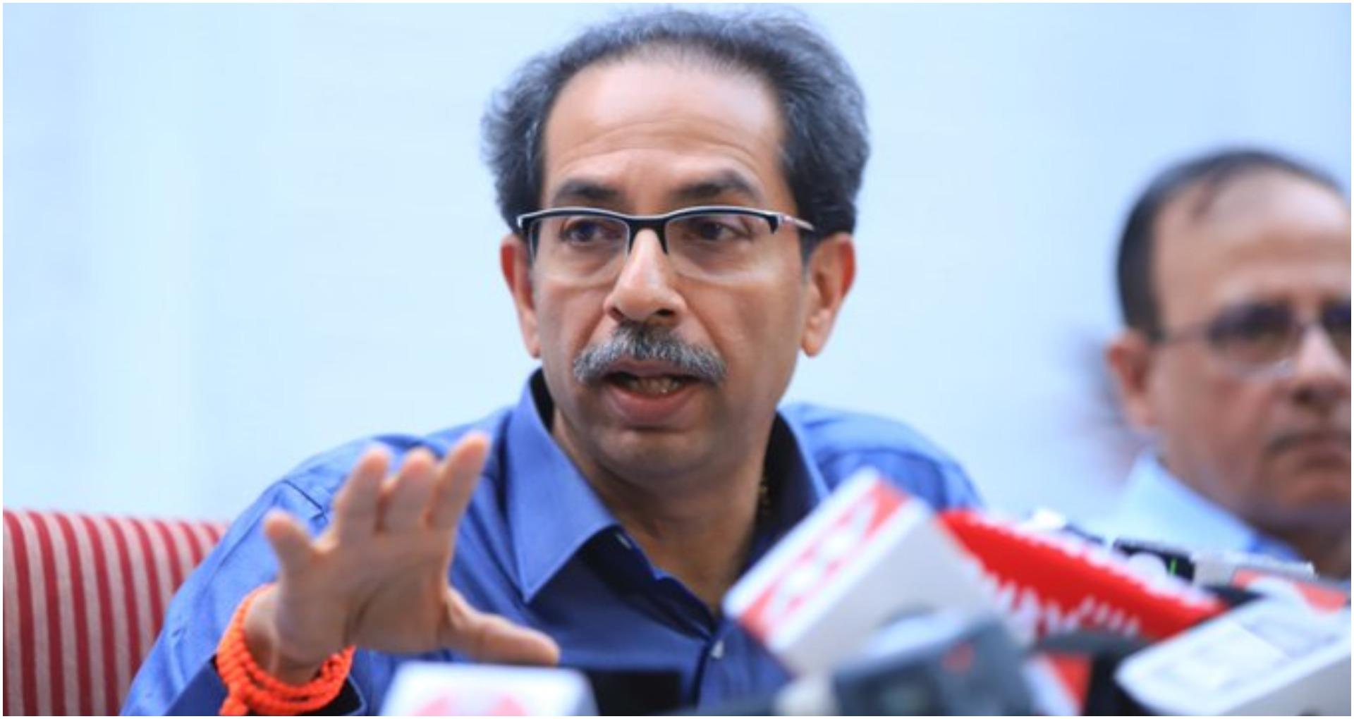 महाराष्ट्र सीएम उद्धव ठाकरे ने कोरोनावायरस की वजह से पूरे राज्य में कर्फ्यू का किया एलान