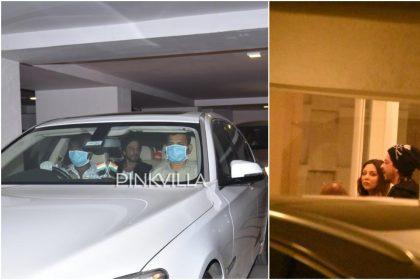 Shah Rukh Khan and Gauri Khan spotted at Karan Johar's home during Coronavirus outbreak