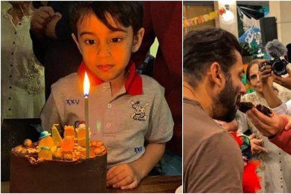 Ahil Sharma birthday photos