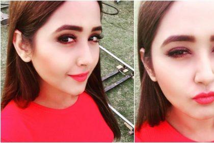 Kajal Raghwani Photos: काजल राघवानी ने लाल ड्रेस पहन अदाओं से फैंस को किया घायल, देखें तस्वीरें
