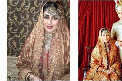 Kareena Kapoor Photos: करीना कपूर दुल्हन के जोड़े में लग रही हैं बेहद सुन्दर, इंस्टाग्राम पर शेयर की तस्वीर