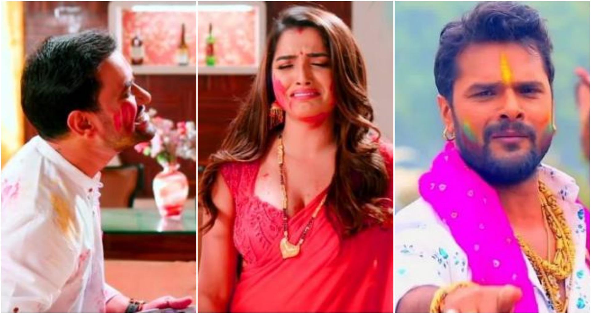 Holi 2020 Top Bhojpuri Song: पवन सिंह, खेसारी लाल और निरहुआ ने होली में अपने गानों से मचाया धमाल
