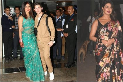 Desi Girl Priyanka Chopra saree pic will you stunt, see photos