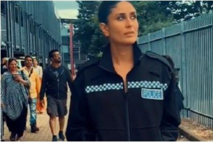 Angrezi Medium: Kareena Kapoor Khan shares look of british police 'slo mo shots' went viral