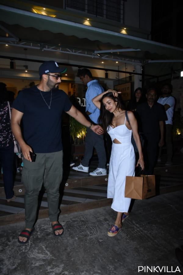 Malaika Arora and Arjun Kapoor dinner date