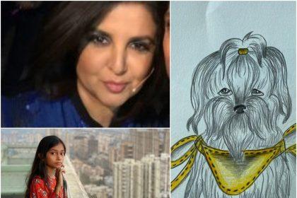 कॉरियोग्राफर से निर्देशक बनी फराह खान की बेटी ने बनाया जबरजस्त पेंटिंग, जिसे बेच कर दान करेंगी 70 हजार रुपए