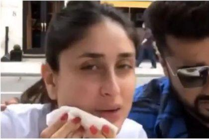 अर्जुन कपूर के साथ दिखीं करीना कपूर, लंदन में पिज्जा खाते आए नजर, Video हुआ वायरल