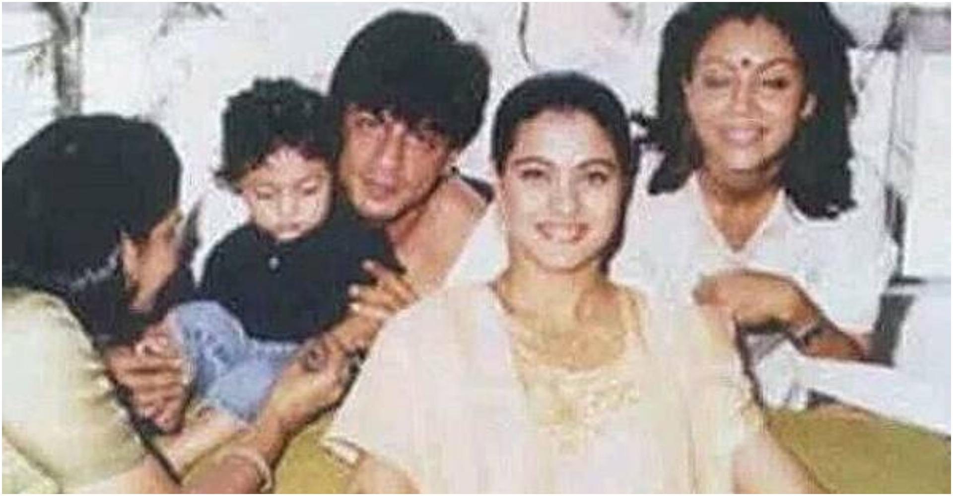 काजोल की मेहंदी सेरेमनी की फोटोज आई सामने, शाहरुख, गौरी और आर्यन भी हुए थे शरीख, देखें अनदेखी तस्वीर