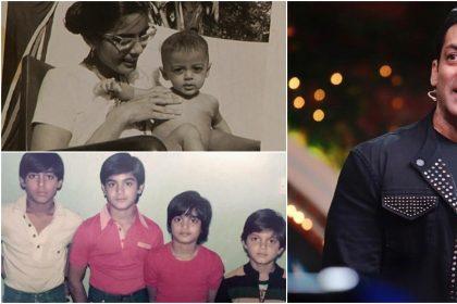 सलमान खान की बचपन की तस्वीर
