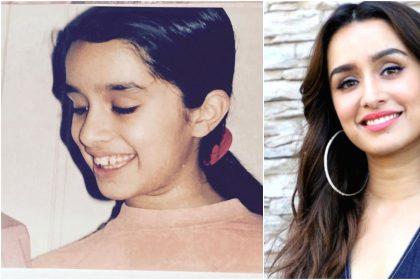 Shraddha Kapoor Childhood Pics